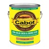 Cabot 17416-07 Gal Ced Sol Deck Stain, Pack of 4