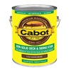 Cabot 17434-07 Gal Brn Sol Deck Stain, Pack of 4