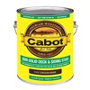 Cabot 17437-07 Gal Brn Sol Deck Stain, Pack of 4