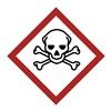 Brady 118846 Label, GHS Severe Toxic, Vinyl, 16/Sheet
