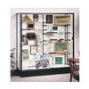 Waddell Display 2605-PB-BZ Display Case, 40x60x20, Dark Bronze