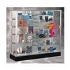 Waddell Display 2606-PB-SN Display Case, 40x72x20, Satin