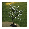 "Gerson 92413012 18""Wht 48Lt Bonsai Tree"