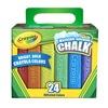 Crayola Llc 51-2024 Cray24Ct Sidewalk Chalk, Pack of 2