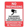 Lyle T1-1073-HI_18x24 Property Sign, No Trespass, 24 x 18 In