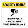 Lyle T1-1077-EG_18x18 Property Sign, Second Notice, 18 x 18 In