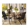 Agio International Co., Inc S5-ADC03300 Urban 5PC Dining Set