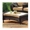 Chicago Wicker & Trading CO D-CUSH3280COT-F510-P105-W Stainless Steel Beige Curvotto Cushion