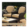 Chicago Wicker & Trading CO D-CUSH3280TAT-F510-P105-W Stainless Steel 4PC Beige Tete Cushion