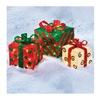 Noma/Inliten-Import V22187 3PC Sisal Gift Box