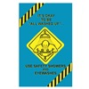 Marcom P000SSE0SM Poster, Safety Showers, Spanish