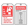 Accuform Signs TAR712 Inspection Tag, Roll, 6-1/4 x 3, PK 100