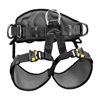 Petzl C79AFA 1 Sit Harness, Size S/L, Black / Yellow