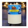 Lamplight Farms 1412305 3x4 Pillar Candle