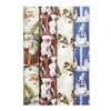 "Impact Innovations Inc MP10758 30"" Santa/Snowman Wrap, Pack of 48"
