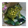 Allen Group Intl Inc AG55614-01F Sol Stained Glass Frog