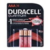 Procter & Gamble/Duracell 66252 QUANT 6PK AAA Battery