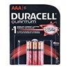 Procter & Gamble/Duracell 66252 QUANT 6PK AAA Battery