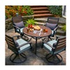 Courtyard Creations 13S7421M Napa 5 Piece Dining Set