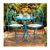Courtyard Creations S11S175Y-T Malibu Turquoise Bistro Set