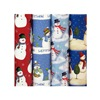 "Impact Innovations Inc MP10735 30"" Snowman Class Wrap, Pack of 48"