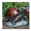 Allen Group Intl Inc AG55614-02T Sol Stain Glass Turtle