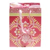 Flp Llc 9500 2PK 7x9 Floral Gift Bag, Pack of 30