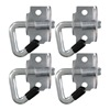 Hampton Products-Keeper 5623 4PK Anch PT Swiv Hook