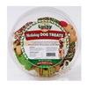 LUCKY PET TREATS-GENEVA INDUSTRIAL LD88HRG 8OZ Holiday Dog Treat, Pack of 12