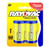 Spectrum/Rayovac 6D-2BD RAYO 2PK D HD Battery