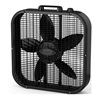"Lasko B20401 20"" Blk Box Fan"