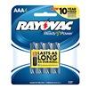 Rayovac 824-4F Rayo4Pk Aaa Alk Battery