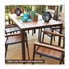 Jack Post Corp HA-820 Hudson Bay Dining Table