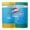 Clorox Company, The 1599 2PK 75CT Disinfect Wipe