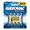 Rayovac 815-4F Rayo 4Pk Aa Alk Battery