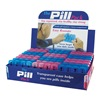 D.M. Merchandising Inc PILL-PACK 7 Day Plas Pill Box, Pack of 24