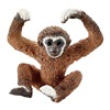 Schleich North America 14718 BRN Gibbon Young