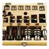 "TTC 69-202-517 Revolving Tailstock Turret 6pc Accessory Set for 5"" Turret"