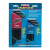 "Eklind 10022 22 Piece Inch & Metric Hex•L ® Key Set - Model: 10022 Size Range: .050"", 1/16"", 5/64"", 3/32"", 7/64"", 1/8"", 9/6"
