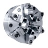 "Gator Chucks 1-103-1000 Precision Self-Centering Scroll Chuck - CHUCK SIZE: 10""   Tool Material: Steel Body 1-103-1000"