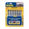 Irwin 394100 7 Piece Power-Grip Screw & Bolt Extractor Set