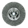 "Weiler 1075 Narrow Face Width Wire Wheel Brushe - Diameter: 6""   WIRE SIZE: .014"""