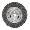 "Weiler 6645 Bench Grinder Wheel - Diameter: 6""   WIRE SIZE: .014"""