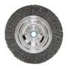 """Weiler 6645 Bench Grinder Wheel - Diameter: 6""""   WIRE SIZE: .014"""""""