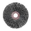 """Weiler 15563 Small Diameter Crimped Wire Wheel - Diameter: 3""""   WIRE SIZE: .0118"""""""