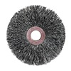"Weiler 16963 Small Diameter Crimped Wire Wheel - Diameter: 3""   WIRE SIZE: .0118"""