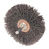 "Weiler 17923 Mounted Crimped Wire Wheel - Diameter: 4""   WIRE SIZE: .014"""