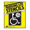 Hy-Ko Products PLS-10 Handicap Park Stencil