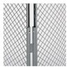 Husky 6061 Adjustable Corner Post - For 7' High Panels - Gray