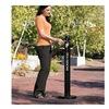 "Rubbermaid FGR1BK Aluminum Smokers' Pole - 41""H - 0.9-Gallon Capacity - Black"